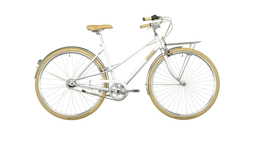 Creme Caferacer Solo Lady 3-speed white